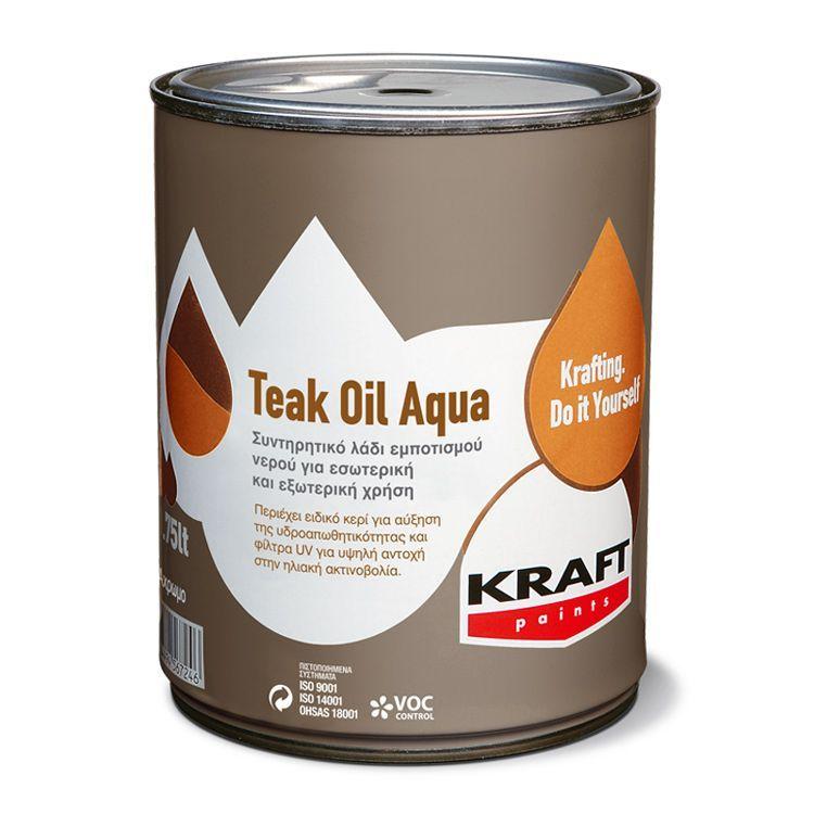 Teak Oil Aqua Kraft Paints
