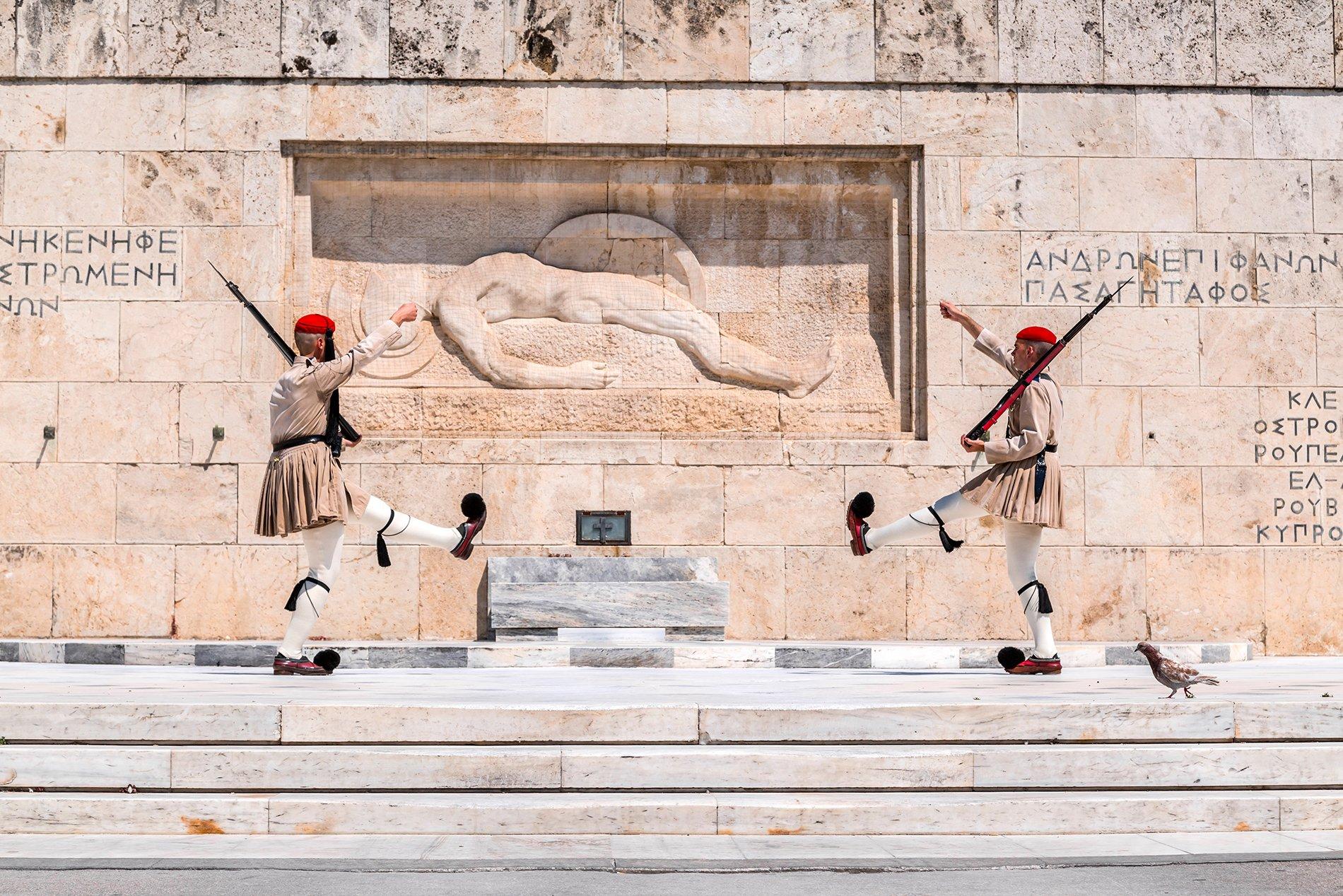 Colors of Greece evzones